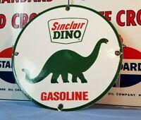SINCLAIR GASOLINE PORCELAIN METAL GAS OIL VINTAGE STYLE SERVICE CENTER SIGN