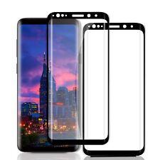 2x Hartglas für Samsung Galaxy S9 Curved Schutzglas 9H-Schutzpanzer Glasfolie 3D
