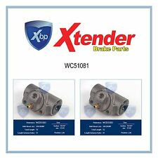 WC51081 Brake Wheel Cylinder-REAR Set For Cadillac Fleetwood/Commercial Chassis