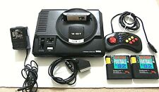 Sega Mega Drive 16 Bit Console Bundle Controller & Sonic 1 Scart lead  PAL UK