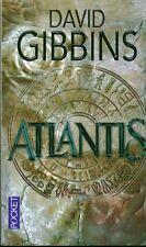 Livre de poche Atlantis David Gibbins book