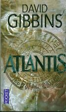 Livre de poche roman Atlantis David Gibbins  book