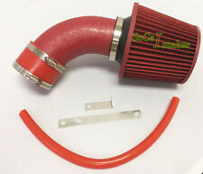 ALL RED COATED Air Intake Kit  For 1990-1993 Geo Storm Isuzu Impulse 1.6L1.8 L4
