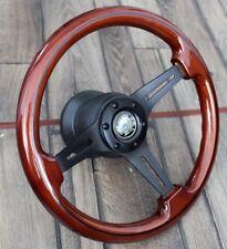 Steering Wheel Mercedes Wood AMG W123 W124 W126 W201 R107 Benz 1979-1992