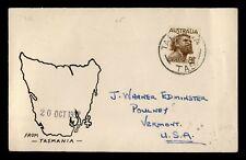 Dr Who 1952 Australia Tasmania To Usa C219561
