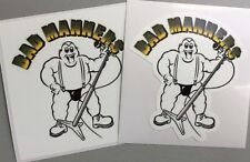 2 Unused Vinyl Stickers 2tone selecter skinhead specials bad manners ska 11x10cm