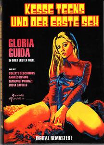 La Ragazzina , Monika , small hardbox , 100% uncut , new & sealed , Gloria Guida
