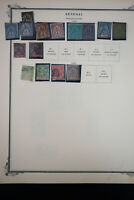 French Senegal 1800's to 1970's Stamp Collection