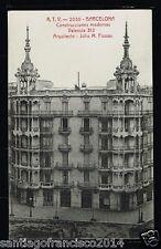 700.-BARCELONA -2030Construcciones modernas Valencia 312 Arquitecto:Julio Fossas