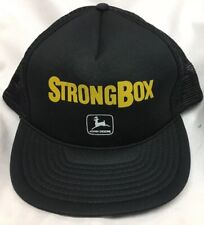 StrongBox John Deere Foam Mesh Trucker Farmer Baseball Hat SnapBack