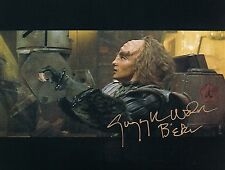 OFFICIAL WEBSITE Gwynyth Walsh as B'etor in STAR TREK TNG 8x10 AUTOGRAPHED