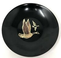 Vintage Couroc Monterey California MCM CANADA GOOSE Limited Edition Inlaid Bowl