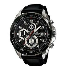 Casio Edifice EFR-539L-1A Chronograph Leather Strap Analog Men's Watch
