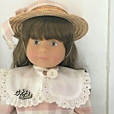 New ListingDarling Vint Gotz Doll 18� with Tags and Box West Germany Vinyl w Soft body 80s?