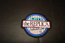 """ERTL """"THE REPLICA"""" COLLECTORS CLUB #4, 3 1/4"""" X 3""""  NEW  CLOTHING PATCH"""