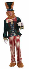 Men's March Hare Costume Alice in Wonderland Adult Size Standard