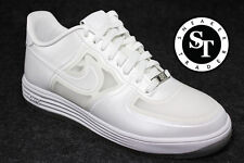 NIKE LUNAR FORCE 1 FUSE QS 614491-100 EASTER EGG PEARL WHITE DS SIZE: 13