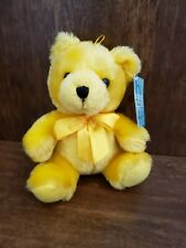 Burton+burton Small Yellow Plush Bear