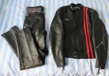 Lewis Leathers Vintage 2-Piece Leather Biker Suit