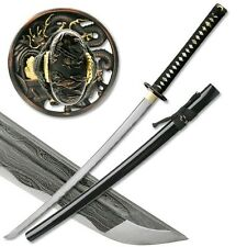 "40"" MASAHIRO 1000 LAYERS FOLDED STEEL DRAGON JAPANESE SAMURAI KATANA w/ Scabbard"