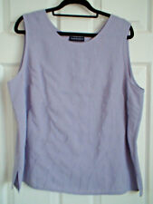 C & A Your Sixth Sense Top 20 Sleeveless Lilac Embroidery Detail