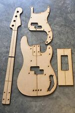 Precision Bass Luthier Routing/Building Templates