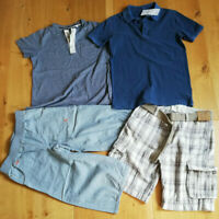 Boy summer bundle x 4 (2 new) t-shirts and short size 11-12 y M&S, Next, Mala