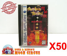 50x SEGA SATURN GAME CLEAR PROTECTIVE BOX PROTECTOR SLEEVE CASE - FREE SHIPPING!