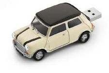 Khaki Mini Cooper Car USB Flash Drive 8 GB