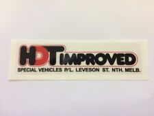 HDT VC LEVESON ST DECAL – HDT IMPROVED DECAL