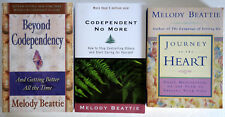 Melody Beattie Lot 3 TPB: Beyond Codependency, No More, Journey to Heart