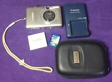 Canon PowerShot SD 600 Digital ELPH Compact Digital Camera W/Black Case