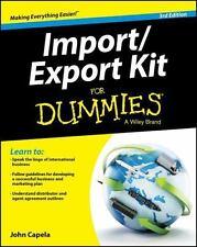 Import/Export Kit for Dummies (Paperback or Softback)