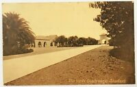 Stanford University The Inner Quadrangle View California Postcard CA Sepia