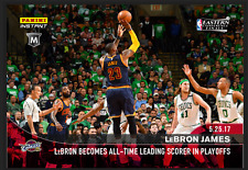 2017 Lebron James Panini Instant #363 NBA Playoffs AT Leading Scorer 1 of 165 OH