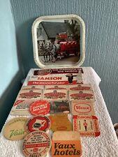 More details for vintage vaux brewery sunderland beer tray beer mats bundle