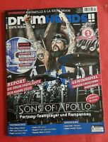 Drumheads Feb/März 02/2020 Sons of Apollo + CD Ungelesen