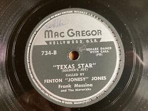 Virginia Reel / Texas Star - Frank Messina And The Mavericks - Fenton Jones