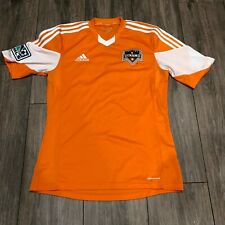 Adidas MLS Houston Dynamo Orange Stitched #54 Jersey