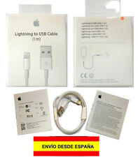 PRECINTADO! Cable cargador Lightning a USB iPhone 5/5S/5C/6/6S Plus iPad iPod