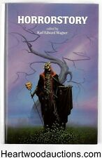HORRORSTORY by Karl Edward Wagner (editor) 33 signatures- High Grade