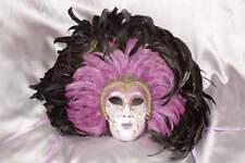 Full Faced Venetian Masquerade Masks - Volto Piuma Piena