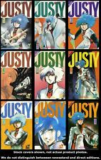 Justy 1 2 3 4 5 6 7 8 9 Complete Set Run Lot 1-9 FN