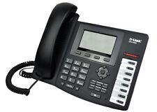 D-LINK DPH-400S VOIP SIP IP Phone LCD display WAN LAN Echo Cancel Memory Keys