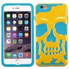 Fundas y carcasas color principal azul de silicona/goma para teléfonos móviles y PDAs Apple
