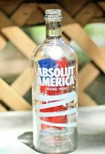 Absolut America 2019 - Limited Red White and Blue Empty Vodka 750 ml Bottle