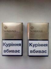 2 x Sobranie London GOLD Cigarettes 2 x 20