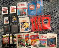 Atari 2600 game lot E.T., Star Wars, Defender, Pac-Man, Combat, Space Invaders
