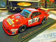 PORSCHE 935 Turbo GELO Loos #66 DRM Norisring Stommelen Warsteiner Spark 1:43