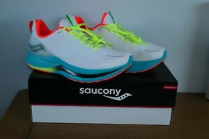 Saucony Endorphin Shift Mens UK 8.5  White Mutant Running Shoes New Speed Pro